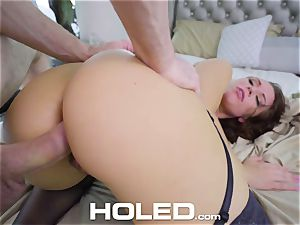 HOLED DEEP lengthy stroke obese bootie anal plumbing