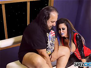 Jessica Jaymes is creamed by mature guy