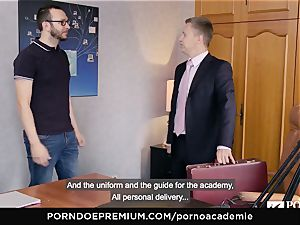 porno ACADEMIE Lana Rhoades luvs humping French lollipop