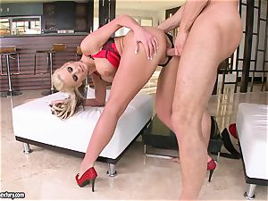 huge-chested Phoenix Marie likes getting her slit plumbed