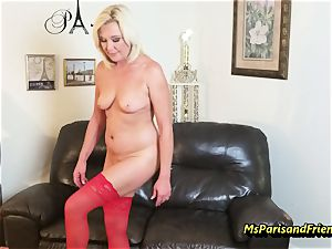 cram Up the Strippers widely opened poon with Ms Paris Rose