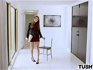TUSHY secretary Makes Her boss Work For rectal