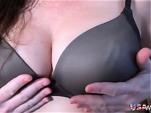 OldNannY ultra-kinky Lacey Starr got hard-core group bang-out