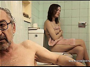 black-haired Latina Maria Valverde looking fantastic on film