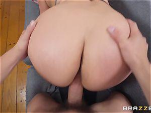 Cristal Caraballo nailed in her latina pussyhole