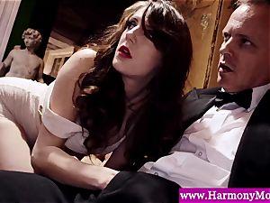 Servants providing a sexshow for their deviant lecturers