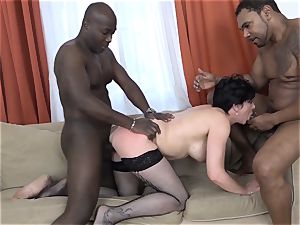 cuckold instructing Wathcing wife have first multiracial