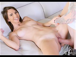 CeCe Capella attempts buttfuck for the first time