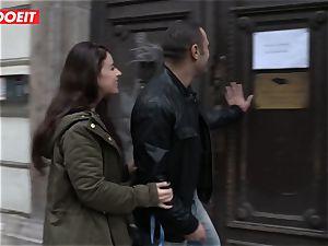 LETSDOEIT - insane French female Gets porked In Budapest