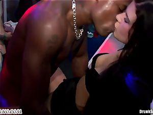 Mass pornography fuck-a-thon in a striptease bar