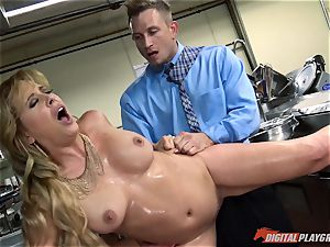 Cherie Deville jammed by Billy Bailey