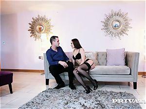 Private.com Blue Angel plows in a super hot underwear