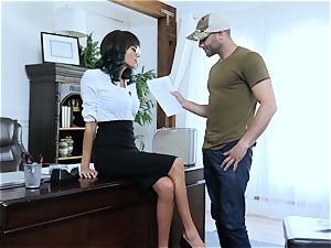 educator gets a lesson of banging