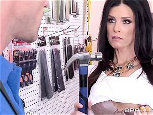 crazy customer India Summers romped by the secretary