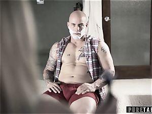 pure TABOO Piper Perri Takes Daddy's internal cumshot
