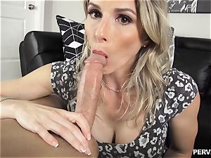 Stepson doesnt hold back wedging his man meat into milf Cory haunt