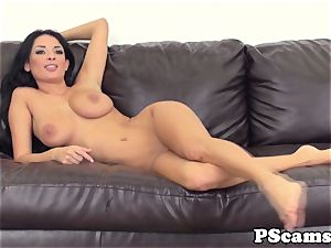 huge-chested cam sweetheart Anissa Kate cockriding