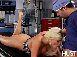 super-sexy Britney Amber penetrated during doctors exam