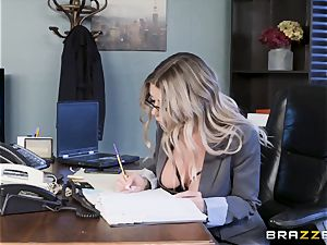 Karma Rx takes cooch torn up in the office