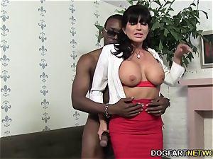 horny cougar Tara Holiday loves big black cock
