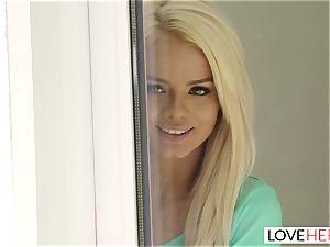 LoveHerFeet - torrid light-haired Gives a hot foot boink