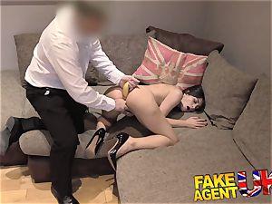 FakeAgentUK ultra-cute Italian takes a fruity rectal boning