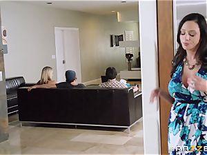 Mean mother Ariella Ferrera entices her daughters boy