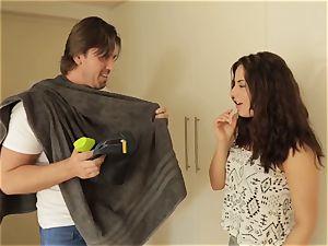 tarts ABROAD - rectal pummel with foreign Ukrainian teenage