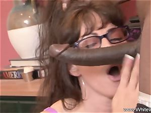 Sisters With Glasses big black cock three way