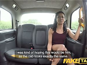 faux taxi fast ravaging and creampie for peachy rump