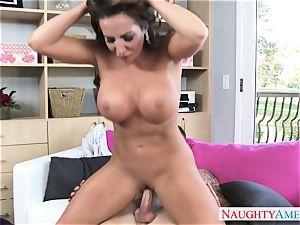 super-steamy mature doll Richelle Ryan seduces her ultra-kinky stepson