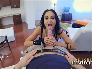 Ava Addams - big knockers in act point of view