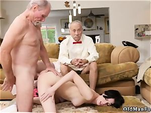 tights office tear up young and milf cheats with hd first-ever time Frannkie heads down the
