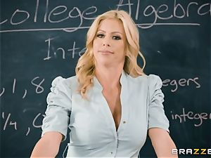 naughtiness in the classroom with Alexis Fawx and Bailey Brooke