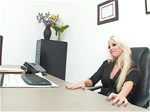 fortunate fellow porks manager Britney during his job interview