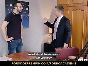 porno ACADEMIE - college girl Lana Rhoades home fuckin'