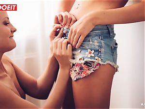 LETSDOEIT - insatiable lesbians enjoy licking Their tastey fuckboxes