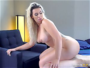Smoking super-fucking-hot blond with a huge arse railing on top of Danny D