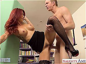 Ginger Monique Alexander can't keep her legs closed at the office