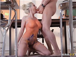 Christie Stevens bent over and smashed doggie-style
