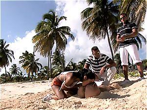 gang plumbing on sunny shores