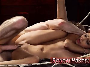 bondage funny climax poor lil Jade Jantzen, she just wished to have a fun vacation with