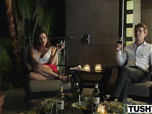 TUSHY Abigail Macs horny rectal venture
