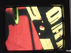 Asa Akira Zombie ass fucking creampie