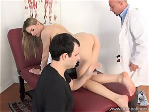 Jillian Gets banged By Real dude in Front of husband