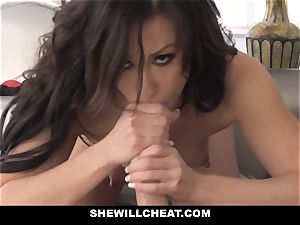 SheWillCheat hot wife Cheats with spouses counterpart
